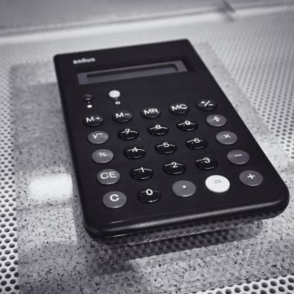 The Braun ET-66 calculator, designed by Dieter Rams and Dietrich Lubs in the 1980s, is an evolution of Rams' original ET-22 calculator. We have both models in our collection and they remain in use. The Braun ET-66 depicted here is from the collection of the Powerhouse Museum in Sydney.