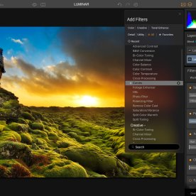 As with all their other products, Luminar users can work in multiple layers and blending modes.