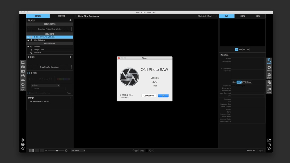 ON1 Photo RAW 2017 Image Editor Released, Now Available for Tryout or Purchase