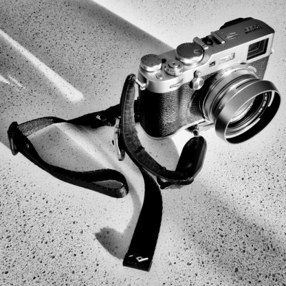 The Fujifilm X100F is in dire need of a Fujifilm hand grip.