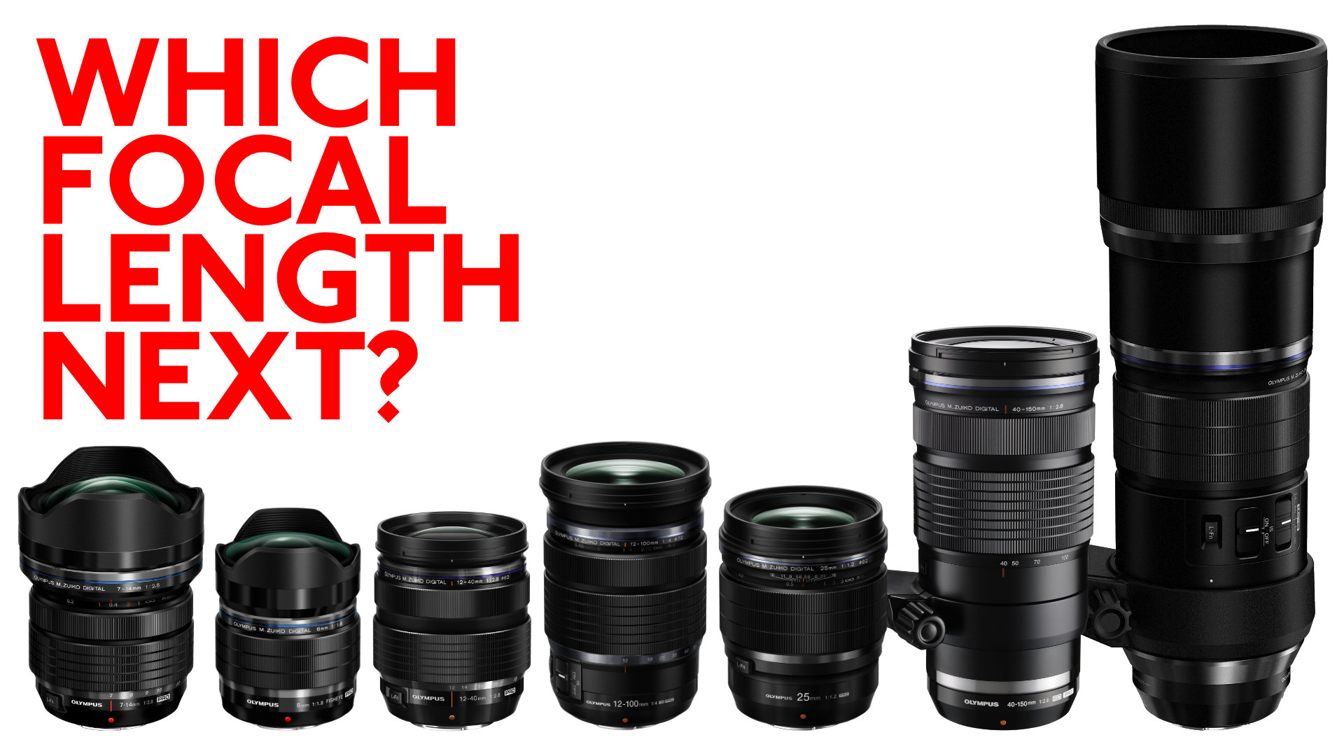 Which Prime Lenses Should Olympus Make Next for Its M Zuiko Pro