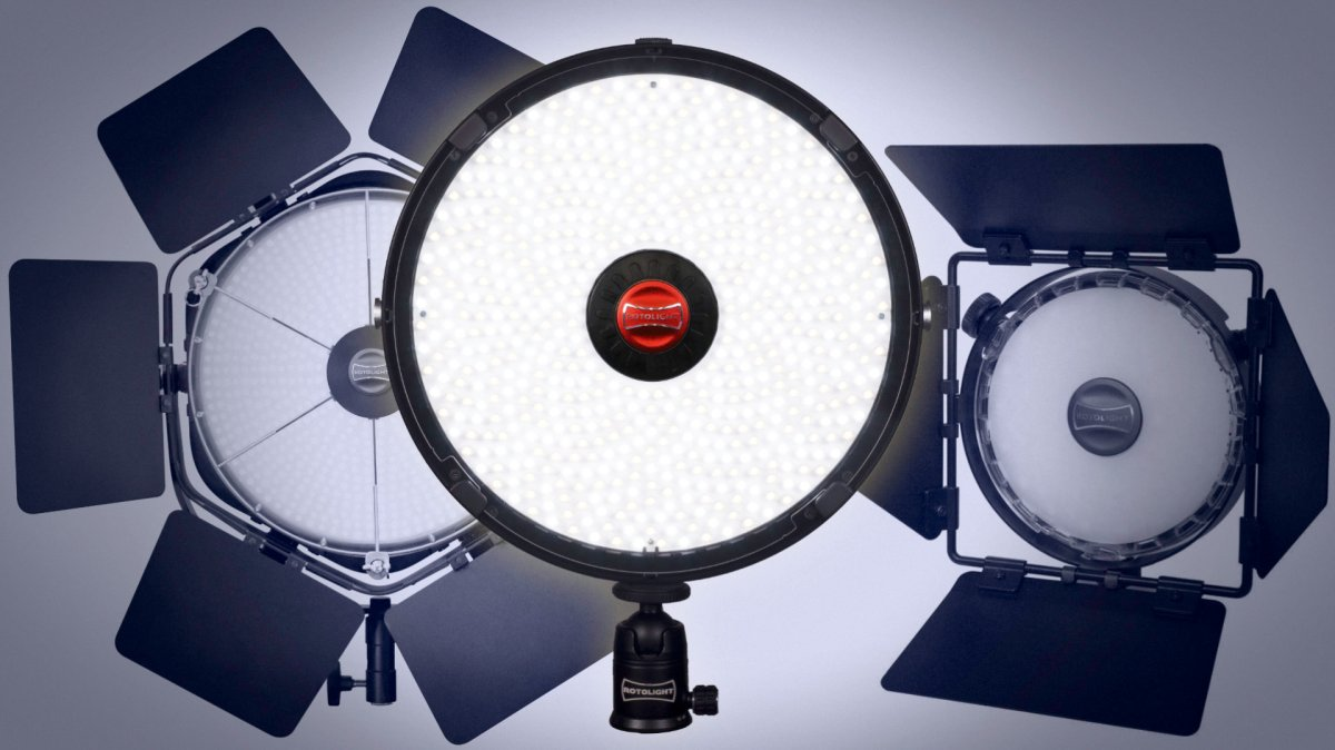Rotolight Announces Aeos, Ultra Thin Location LED Light with Flash, for Stills & Video