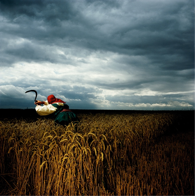 Brian Griffin created the cover photographs of many of the most significant albums of the Punk, Post-Punk and New Romantic movements of the 1970s and 1980s. He photographed this masterpiece for the cover of Depeche Mode's second album, 'A Broken Frame'.