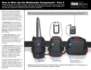 Think Tank Photo's innovative Multimedia Wired Up belt bag system was innovative and released before its time, then was tragically discontinued with no replacement or successor system in sight.
