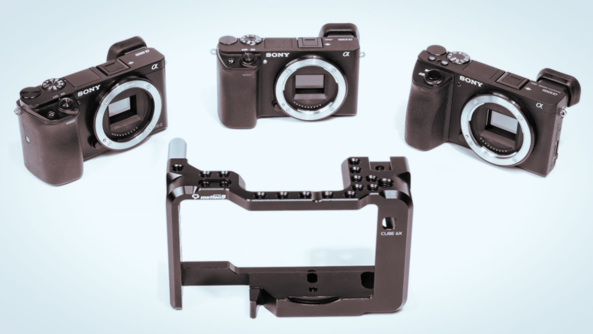 Seercam Releases Beautifully Designed Cube 6X Camera Cage for Sony Alpha A6500, A6300, A6000 Super 35 Cameras