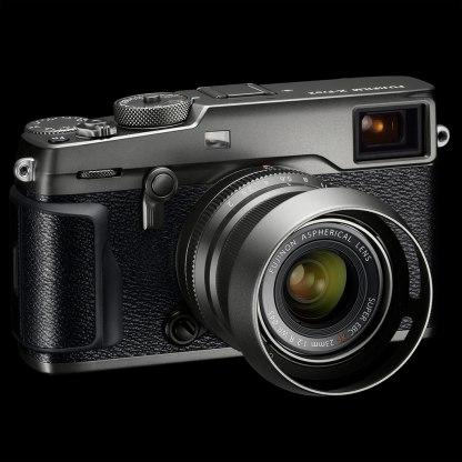 Fujifilm X-Pro2 with Fujinon XF 23mm f/2.0 R WR lens, both in Graphite.