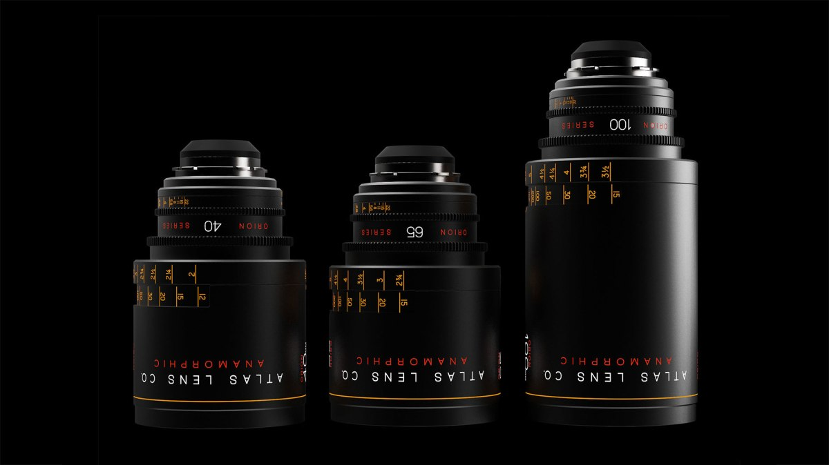 Atlas Releases Affordable, Quality Orion 2x Anamorphic Prime Lenses, 40mm, 65mm and 100mm T2, in EF and PL Mounts