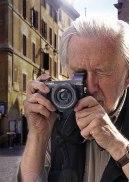Photojournalist Ian Berry of Magnum Photos using Panasonic Lumix DMC-GX7.