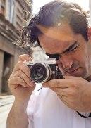 Photojournalist Thomas Dworzak of Magnum Photos using Panasonic Lumix DMC-GX7.