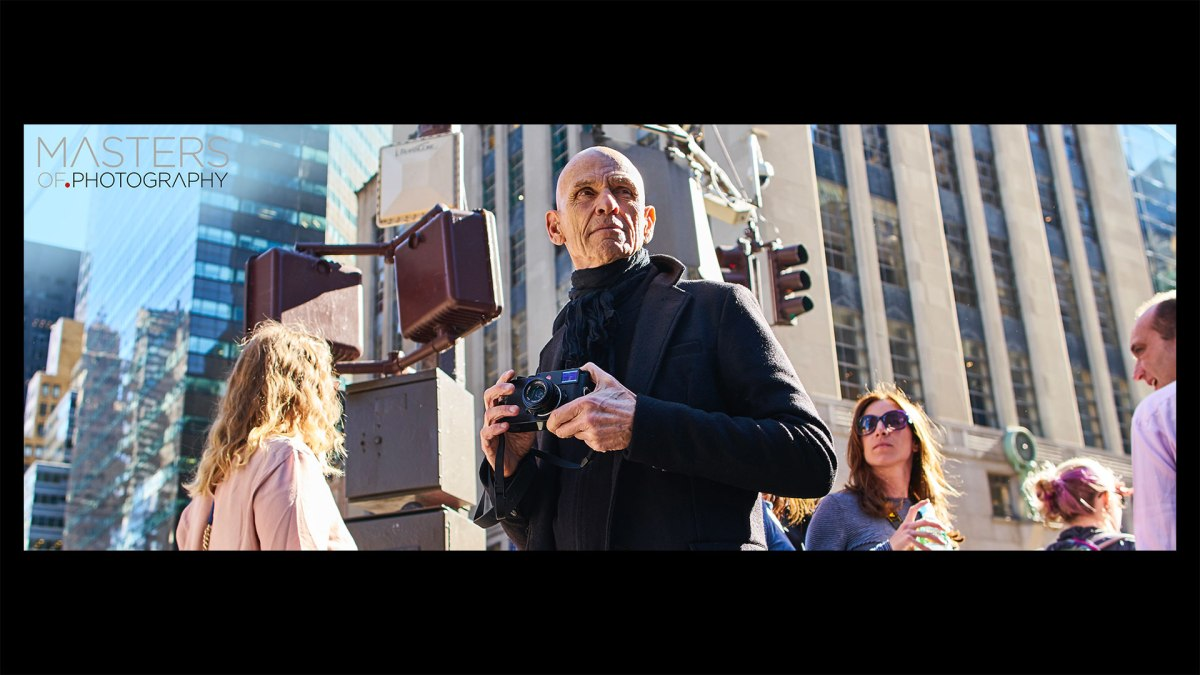 Masters of Photography Online Courses Launches with Joel Meyerowitz, One of the Greatest Living Fine Art Photographers Working in Colour