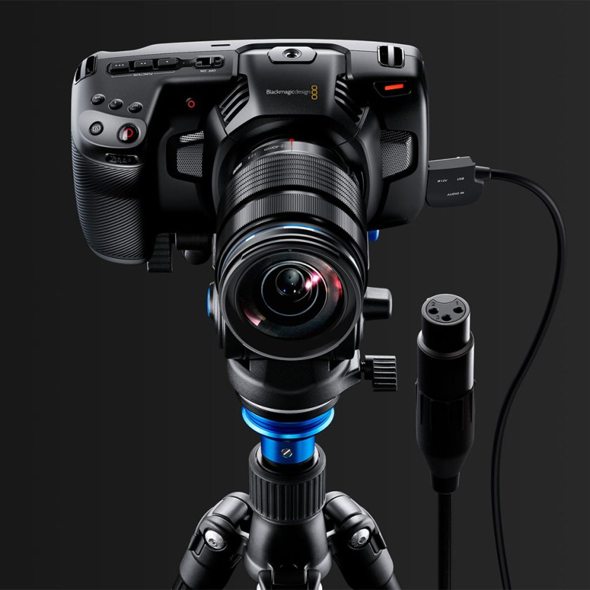 how to change iso on blackmagic pocket
