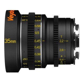 Veydra 35mm T2.2 Mini Prime, equivalent to 70mm when used on a Micro Four Thirds camera.