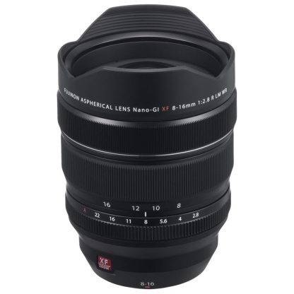 Fujifilm Fujinon XF 8-16mm f/2.8 R LM WR wideangle zoom lens