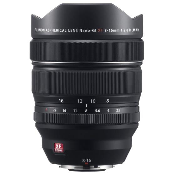 Fujifilm Fujinon XF 8-16mm f/2.8 R LM WR wideangle zoom lens