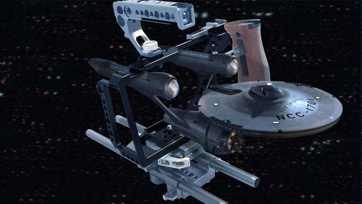 SmallRig Cage for Blackmagic Design Pocket Cinema Camera 4K 2203 Goes Where No One Has Yet GoneBefore