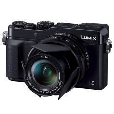 Panasonic DMW-LFAC1 Auto Lens Cap on Panasonic Lumix DMC-LX100