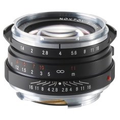 Voigtlaender Nokton Classic 40mm f/1.4 MC for Leica M-Mount.