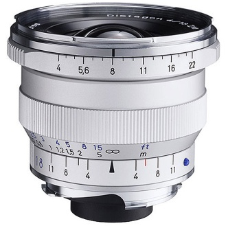 Zeiss Distagon T* 18mm f/4.0 ZM Leica-M-Mount lens. A solution for the well-heeled in combo with an M-Mount to X-Mount adapter?
