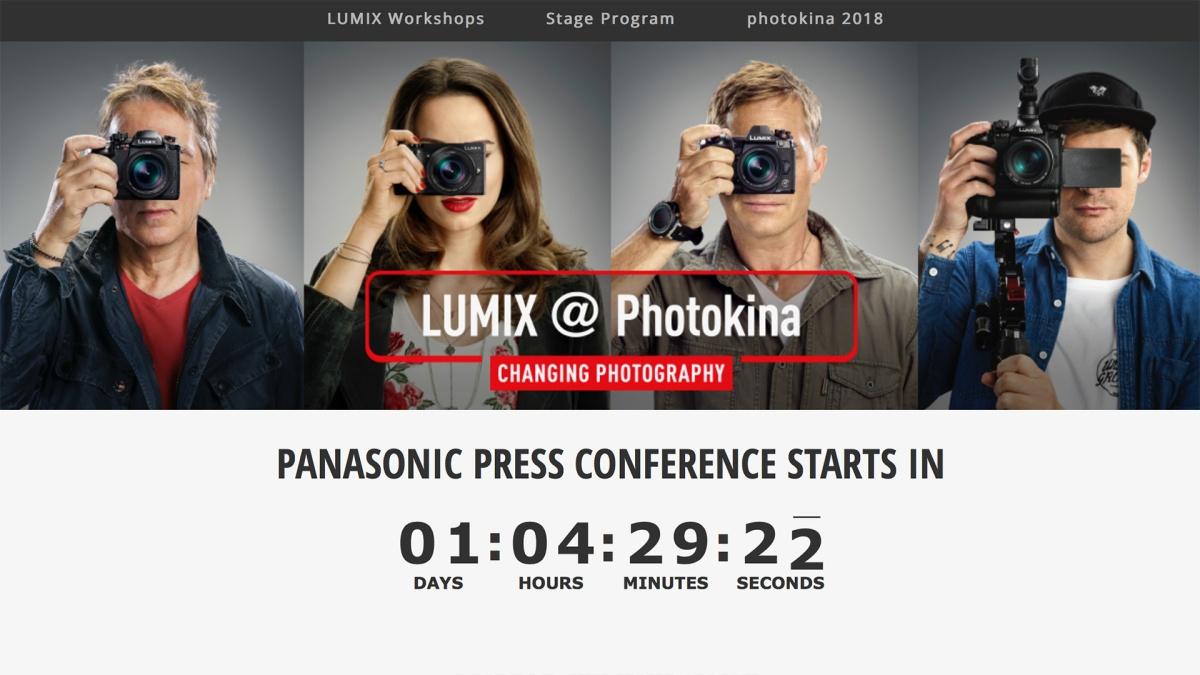 photokina 2018: Panasonic Lumix Schedules andInformation
