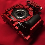 LockCircle Robot Skin GH5 Red cage.