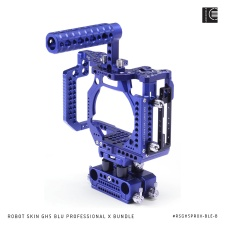 LockCircle Robot Skin GH5 Blue Professional X Bundle.