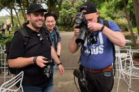 Fujifilm Australia's People With Cameras at Royal Botanic Gardens in Sydney on November 17, 2018