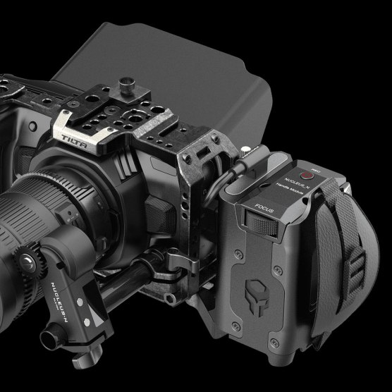 Tilta cage system for the Blackmagic Pocket Cinema Camera 4K.