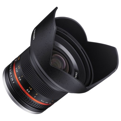 Samyang 12mm f/2.0 NCS CS X-Mount prime lens.