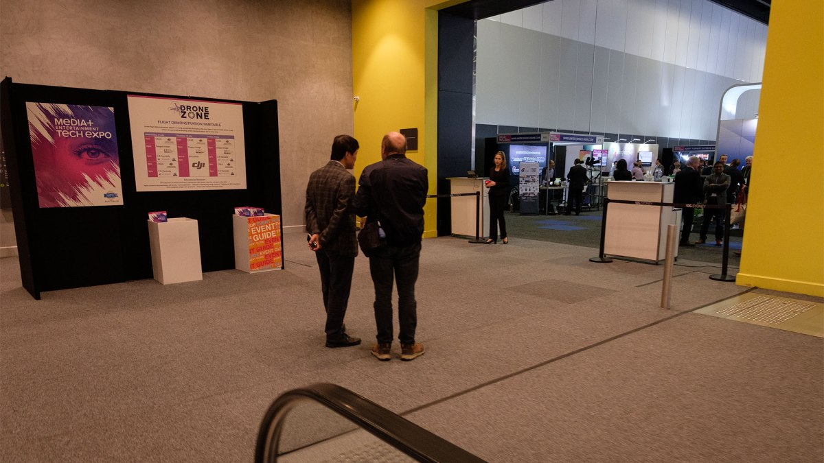 Exhibitors at the Media + Entertainment Tech Expo 2019, Wednesday 17 July 2019, ICC Sydney, Darling Harbour, Sydney