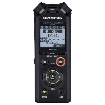 Olympus LS-P4 Audio Recorder.