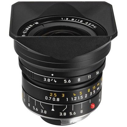 Leica Super Elmar-M 18mm f/3.8 Aspheric prime lens.