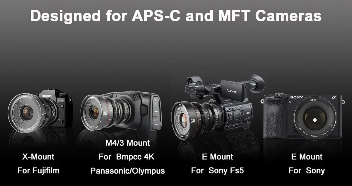 Meike Cinema Prime Lenses for Micro Four Thirds & Super 35 Fill the Chasm Left by the Demise of Veydra Mini Primes