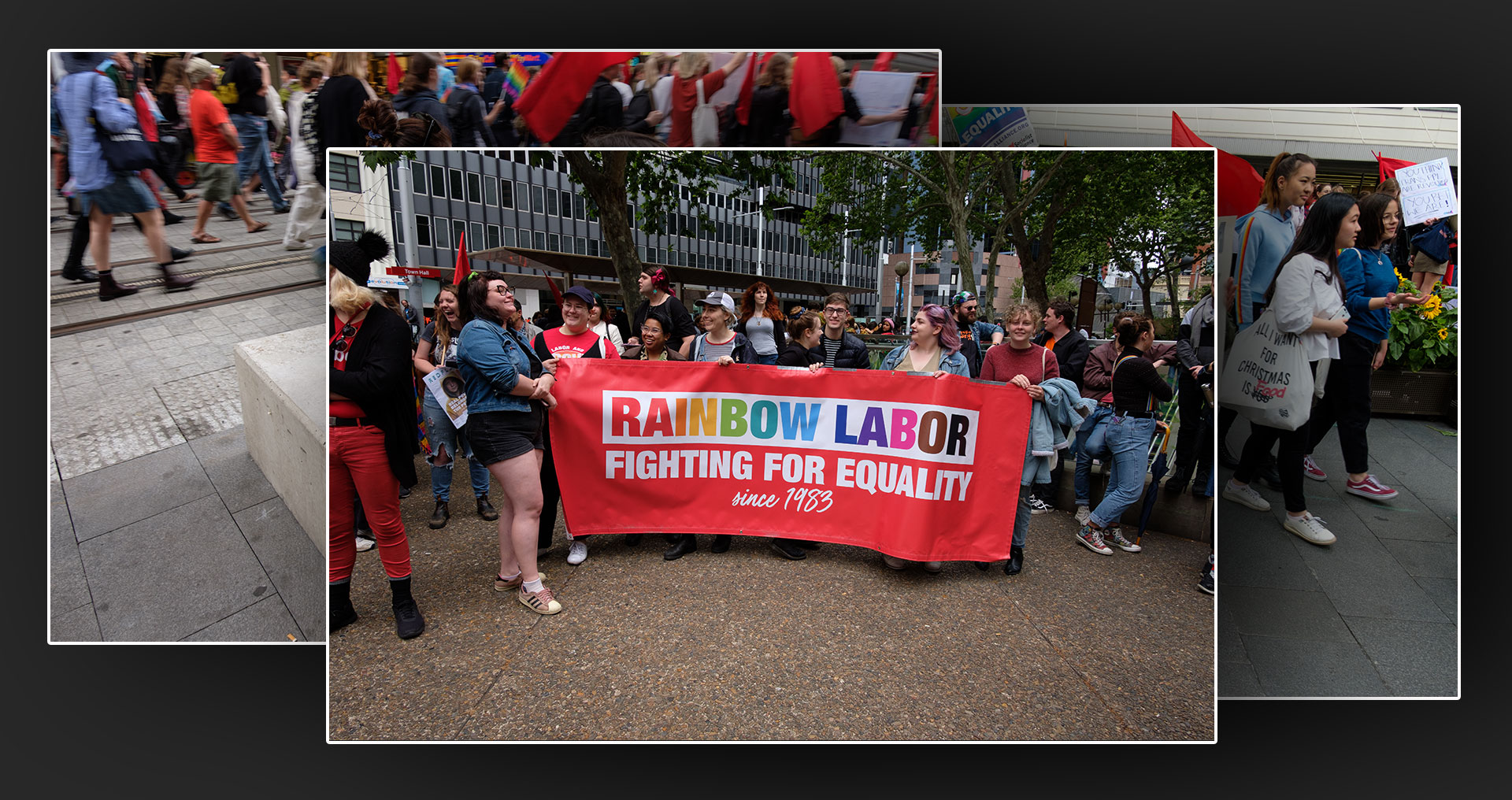 Rally Against Religious Discrimination Bill in Sydney on October 12, 2019