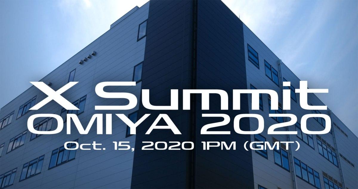 New Event: Fujifilm X Summit Omiya 2020, October 15, 1pm(GMT)