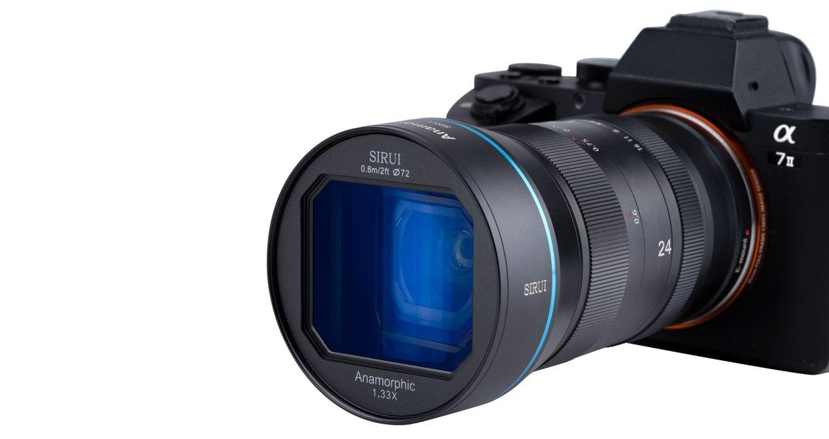 New Hardware: Sirui 24mm f/2.8 1.33x AnamorphicLens