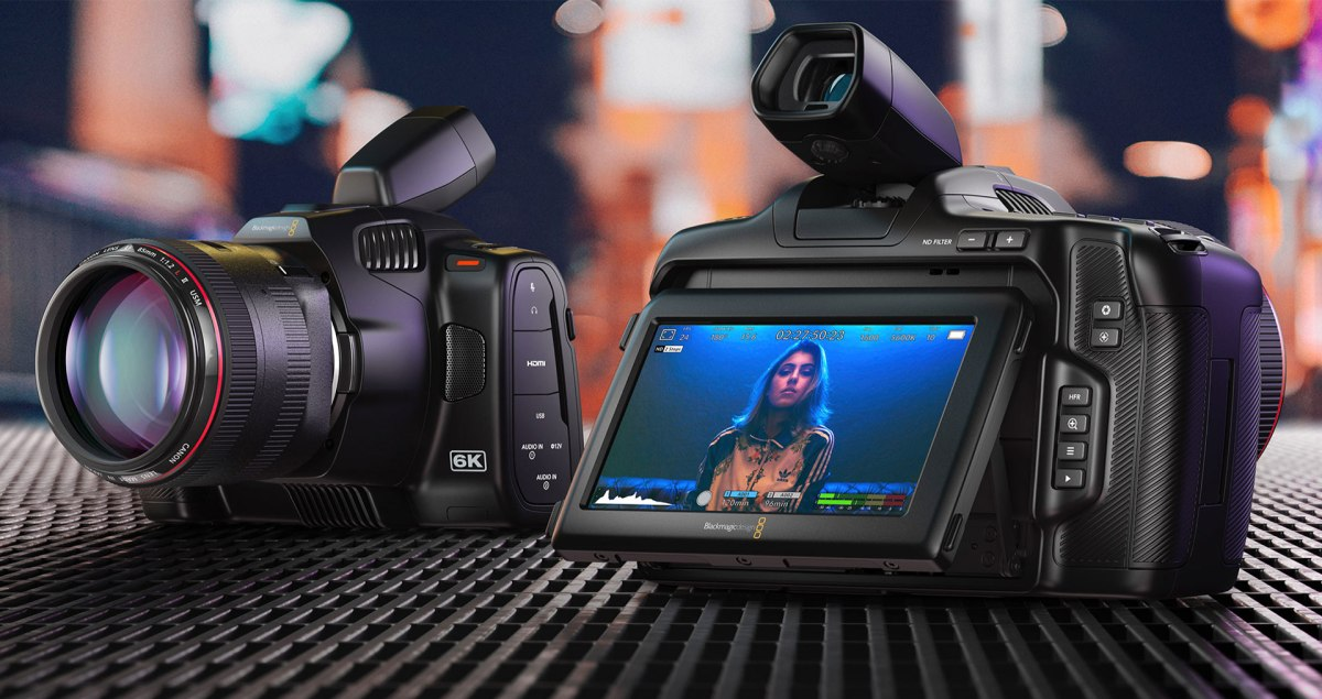 Blackmagic Design: Blackmagic Design Announces New Blackmagic Pocket Cinema Camera 6K Pro – PressRelease