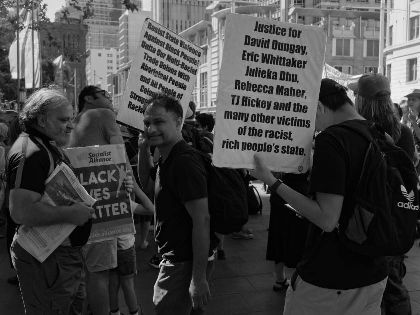 _1130038_DxO_1920px – National Day of Action: Stop Black Deaths in Custody at Sydney Town Hall on April 10, 2021