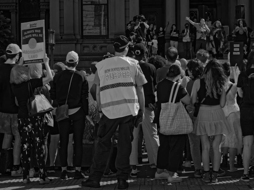 _1130054_DxO_1920px – National Day of Action: Stop Black Deaths in Custody at Sydney Town Hall on April 10, 2021